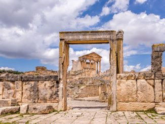 Dougga Day Trip - TUNISIA - A two week Tunisia itinerary: a road trip to all the highlights