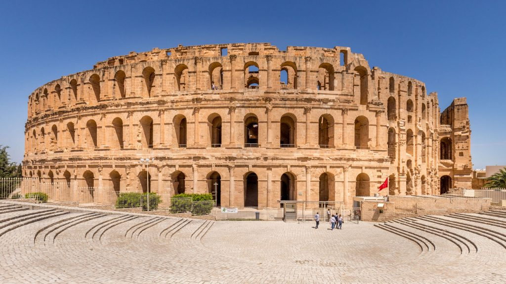 El Jem Colloseum - TUNISIA - A two week Tunisia itinerary: a road trip to all the highlights