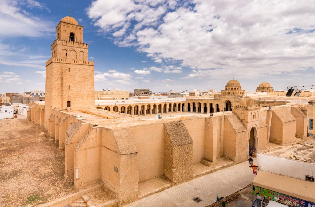 Kairouan Grand Mosque - TUNISIA - A two week Tunisia itinerary: a road trip to all the highlights