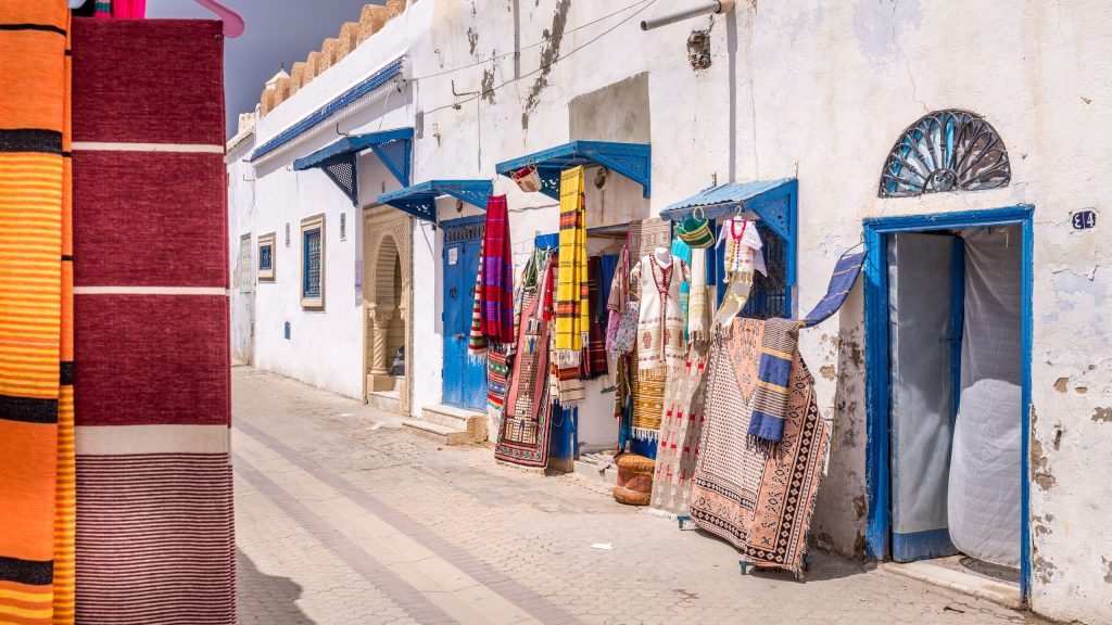 Kairouan Medina Street - TUNISIA - A two week Tunisia itinerary: a road trip to all the highlights