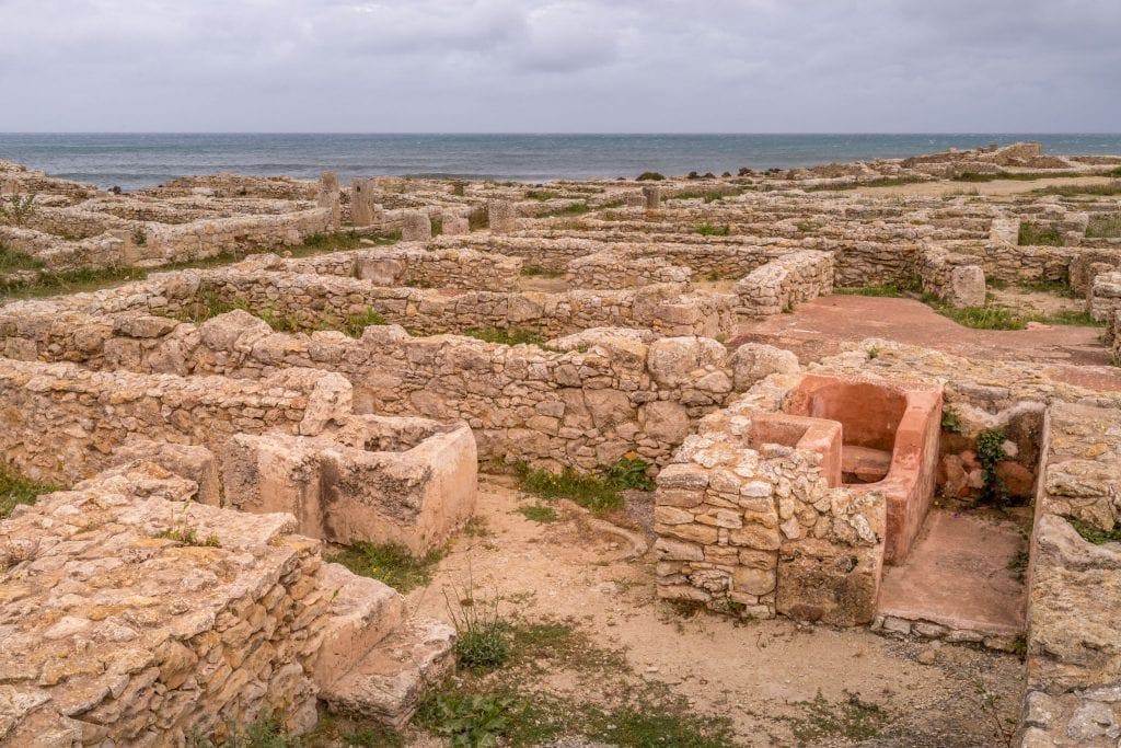 Kerkouane Punic Settlement - TUNISIA - A two week Tunisia itinerary: a road trip to all the highlights