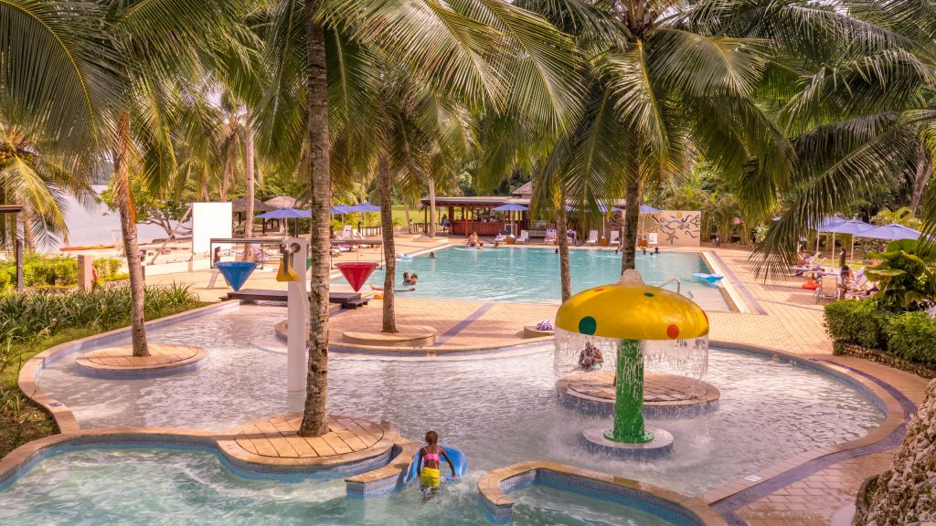 Main pool - VANUATU - Holiday Inn Resort Port Vila; a luxury hotel with private lagoon beach