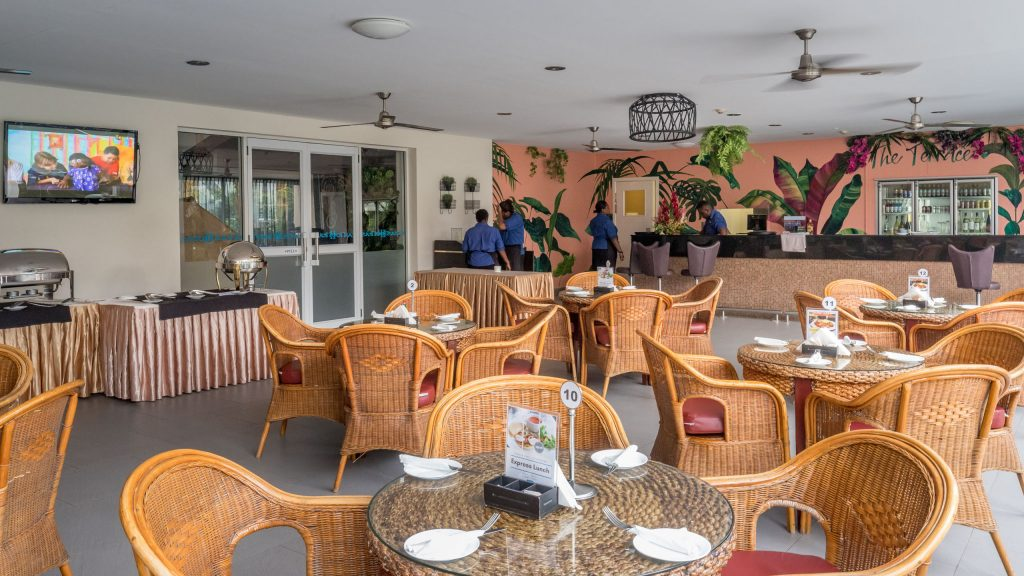 Restaurant - SOLOMON ISLANDS - Heritage Park Hotel review: the luxury place to stay in Honiara