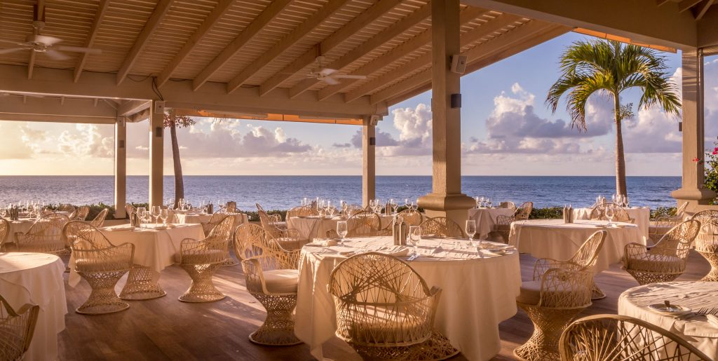 Cove restaurant - ANTIGUA - Blue Waters Hotel review; a must stay luxury beach resort