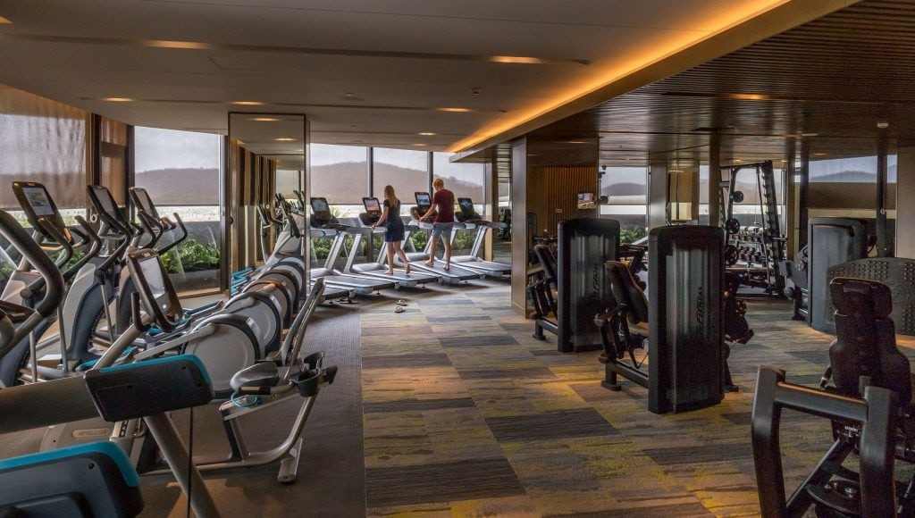 Gym with a view - VIETNAM - Luxury stay: Intercontinental Phu Quoc Long Beach Resort review