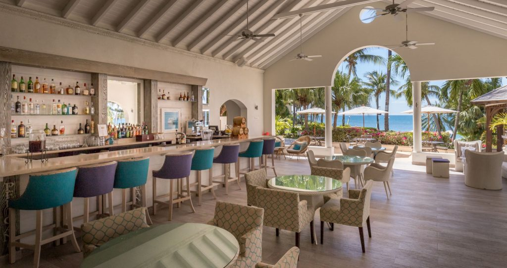 Lobby bar - ANTIGUA - Blue Waters Hotel review; a must stay luxury beach resort