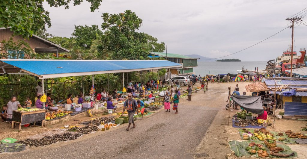 Local market - SOLOMON ISLANDS - World class diving with Dive Munda & an Agnes Gateway Hotel stay
