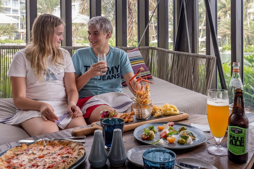 Lunch at Sea Shack - VIETNAM - Luxury stay: Intercontinental Phu Quoc Long Beach Resort review