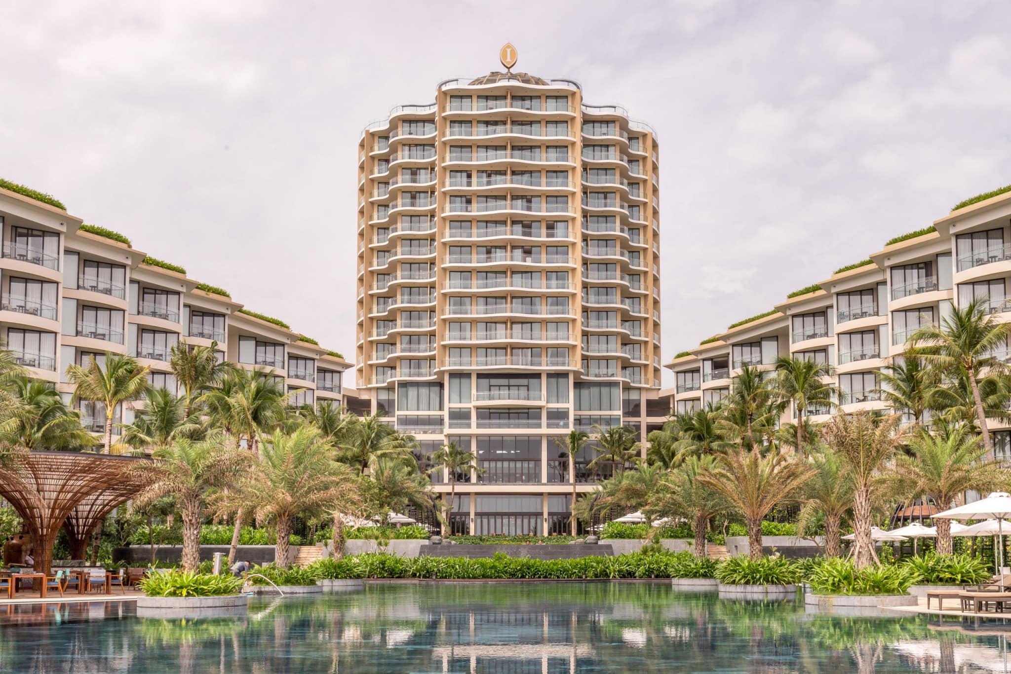 Outside pool view - VIETNAM - Luxury stay: Intercontinental Phu Quoc Long Beach Resort review