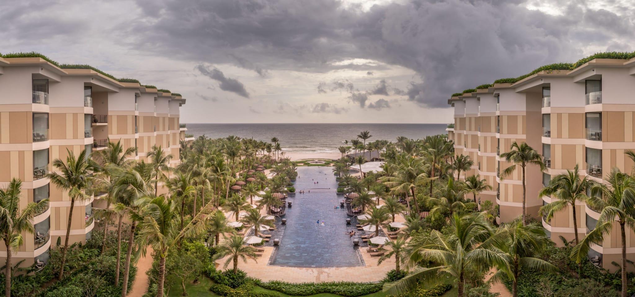 Panorama pool sea view - VIETNAM - Luxury stay: Intercontinental Phu Quoc Long Beach Resort review