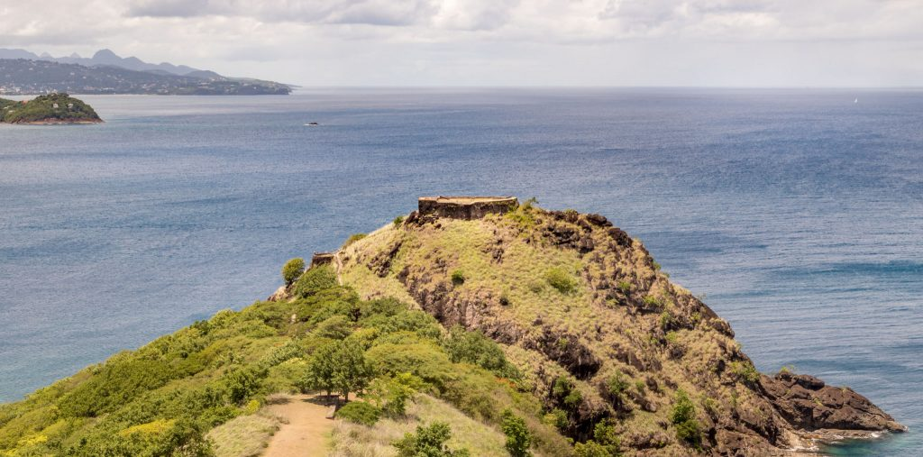 Pigeon Island fort - CARIBBEAN - Antigua, St. Lucia and Barbados: Caribbean island hopping itinerary