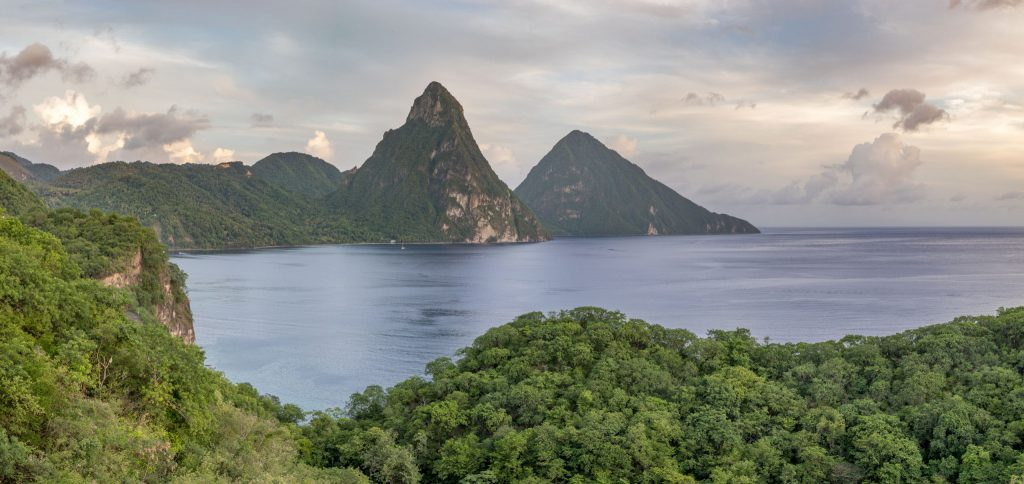 Pitons Petit Grand - CARIBBEAN - Antigua, St. Lucia and Barbados: Caribbean island hopping itinerary