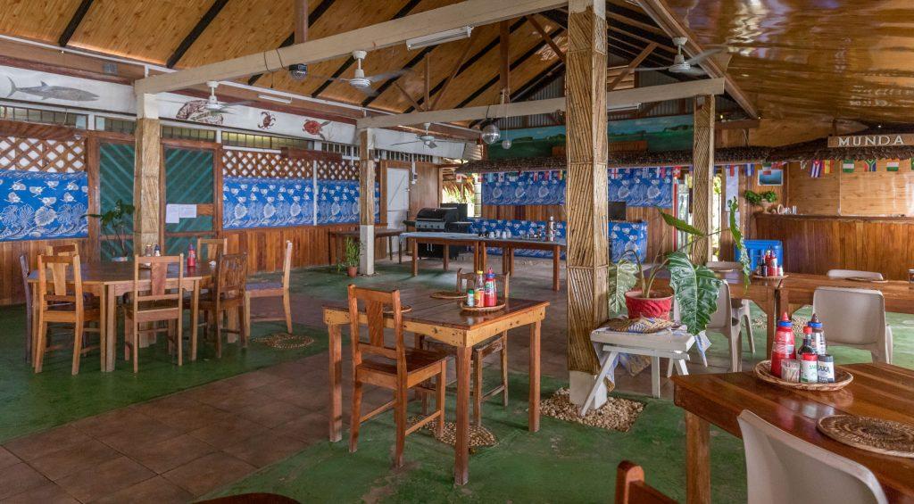 Restaurant bar - SOLOMON ISLANDS - World class diving with Dive Munda & an Agnes Gateway Hotel stay