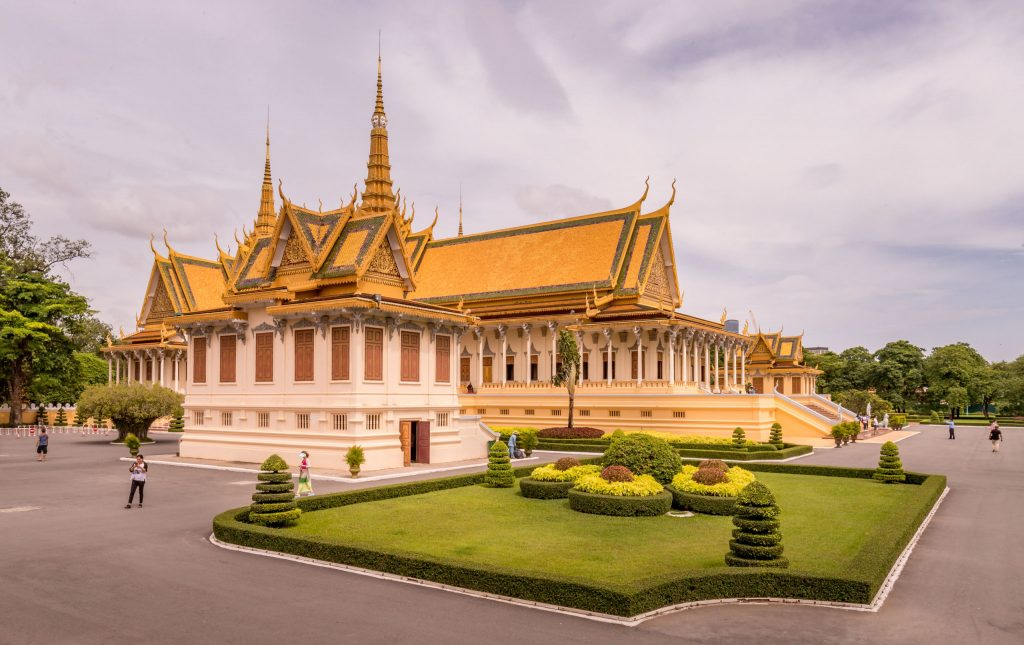 Royal Palace Phnom Penh - VIETNAM & CAMBODIA - Ho Chi Minh City to Siem Reap itinerary with Mekong Cruise