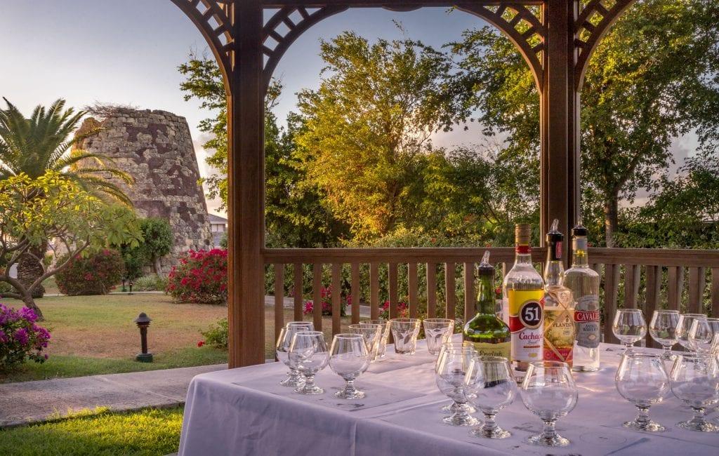 Rum tasting old sugar mill - ANTIGUA - Blue Waters Hotel review; a must stay luxury beach resort