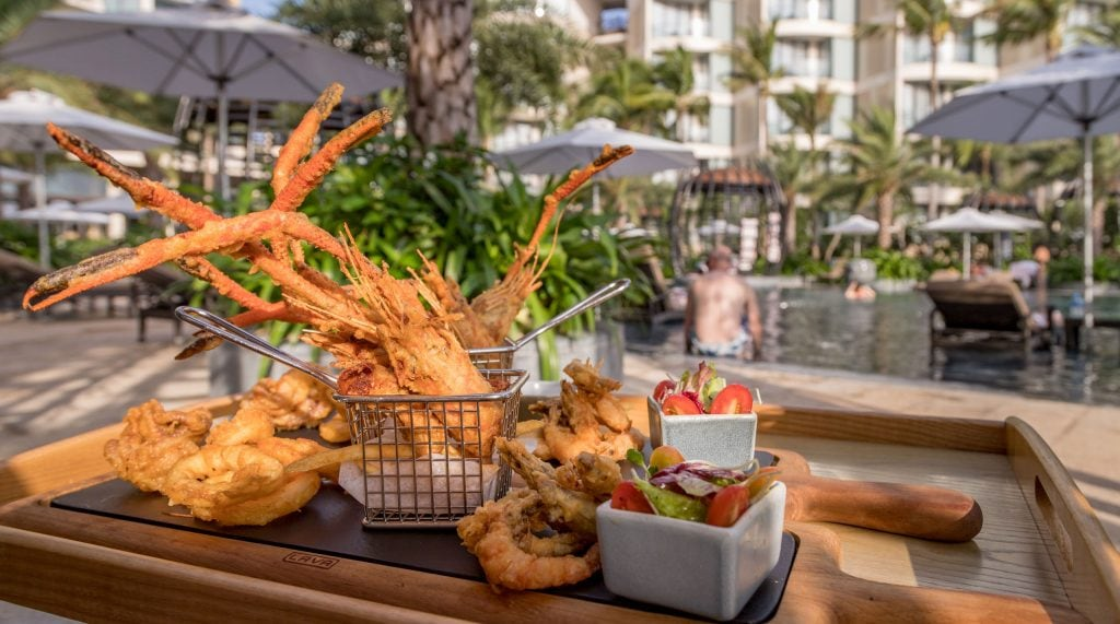 Sea food basket - VIETNAM - Luxury stay: Intercontinental Phu Quoc Long Beach Resort review