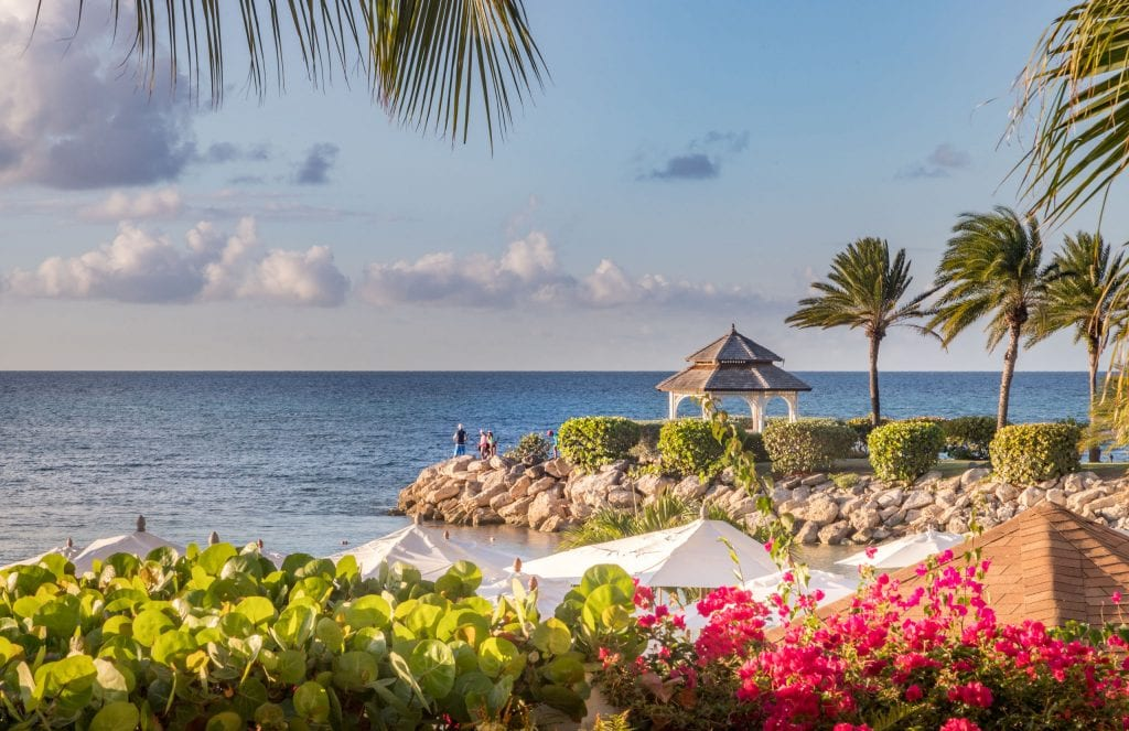 Wedding pavillion - ANTIGUA - Blue Waters Hotel review; a must stay luxury beach resort