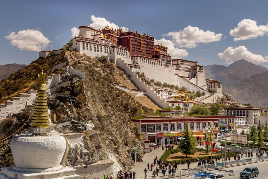 Tibet A Day In Lhasa Potala Palace Amp Minor Temples