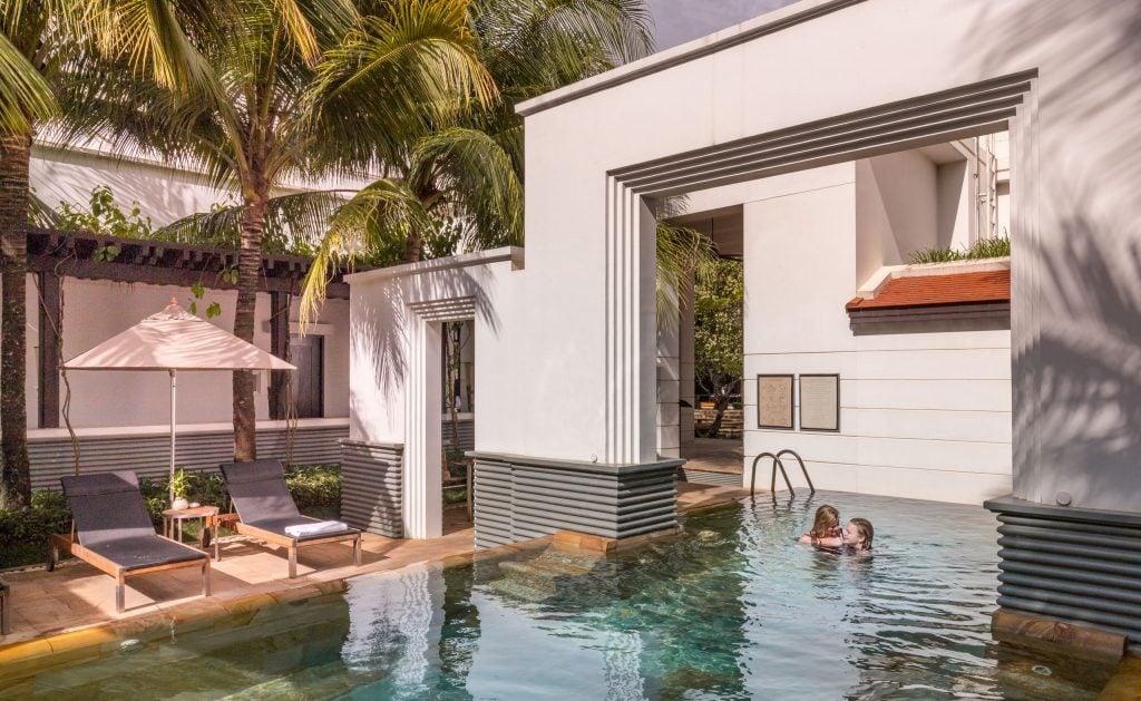 Hyatt Pool Siem Reap