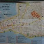 Uruguay - Montevideo - Map Tourist