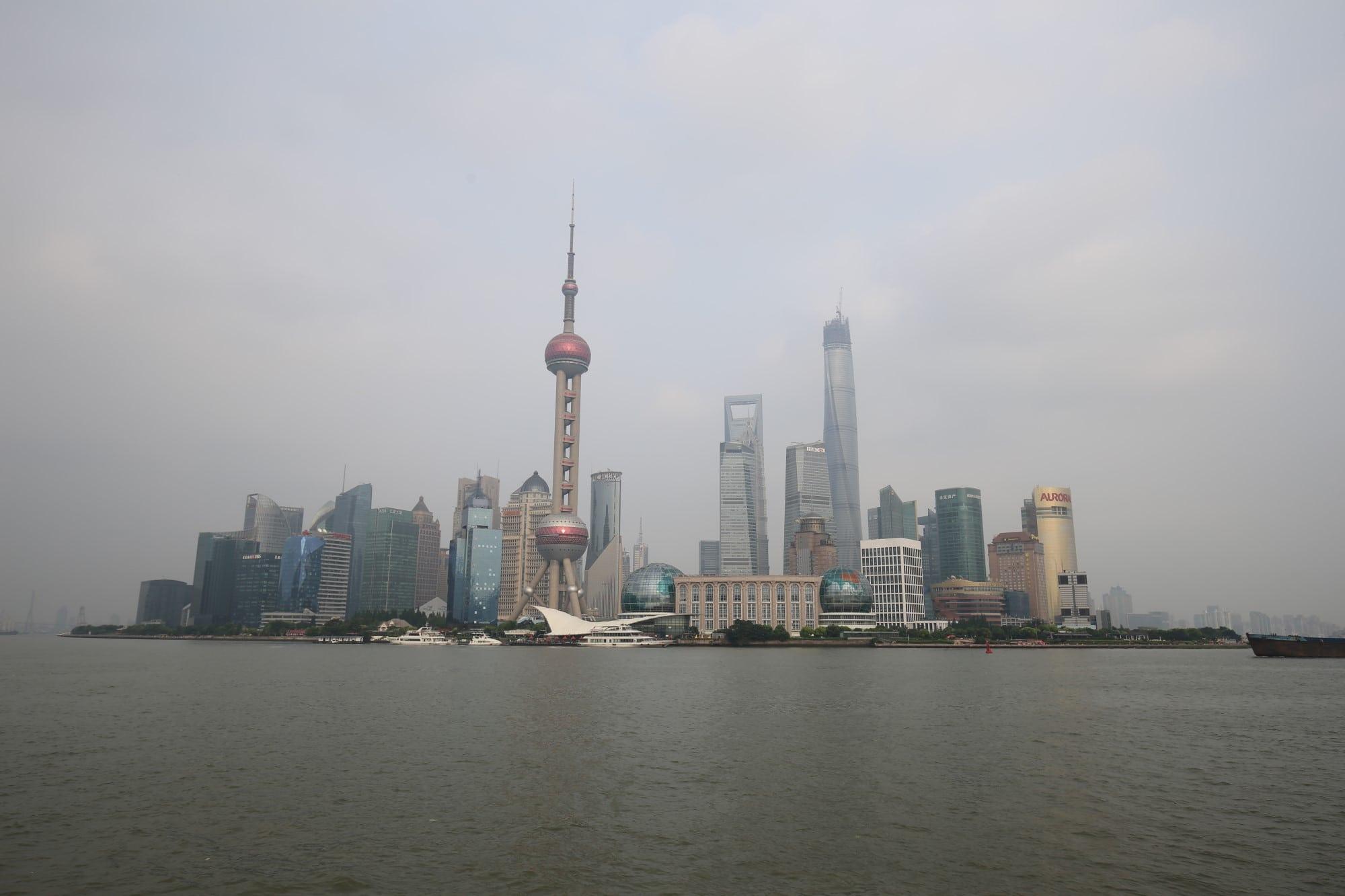 China - Shanghai - the Bund