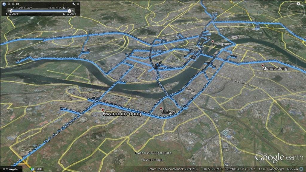 DPR North Korea - GPS Map