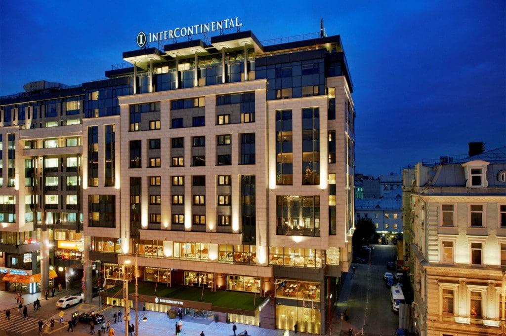 Hotel - Intercontinental Moscow Tverskaya - Review