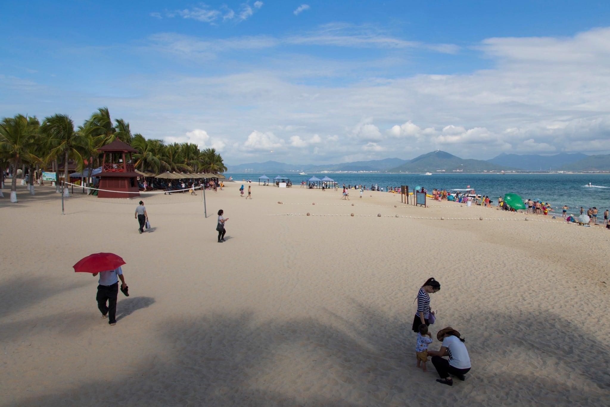 China - Hainan Sanya West Island & Fish Market