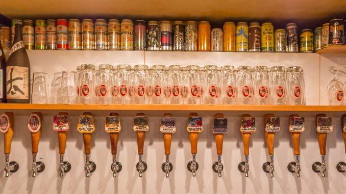 JAPAN - Top places to drink craft beer in Japan: Tokyo, Osaka, Kyoto & Kobe