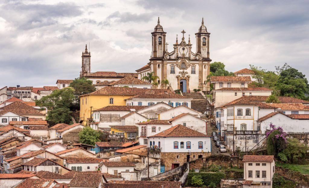 Ouro Preto Birds Eye View - BRAZIL - A 5-day Minas Gerais itinerary: Belo Horizonte, Ouro Preto & Diamantina