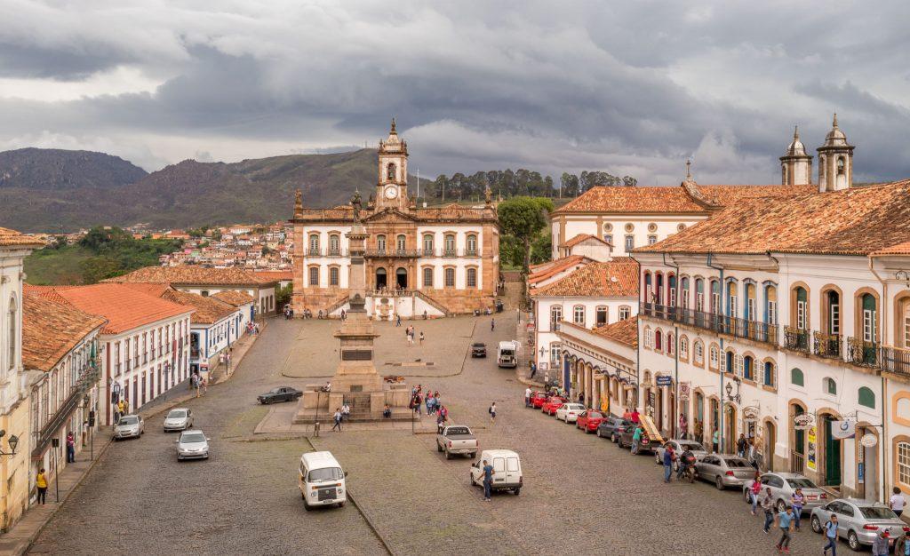 Ouro Preto Tiradentes Square - BRAZIL - A 5-day Minas Gerais itinerary: Belo Horizonte, Ouro Preto & Diamantina