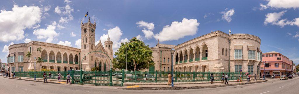 Bridgetown Parliament Building - CARIBBEAN - Antigua, St. Lucia and Barbados: Caribbean island hopping itinerary