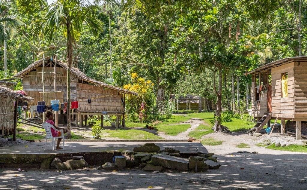 Samm Rural Village - SOLOMON ISLANDS - Savo Island day trip from Honiara (Guadalcanal)