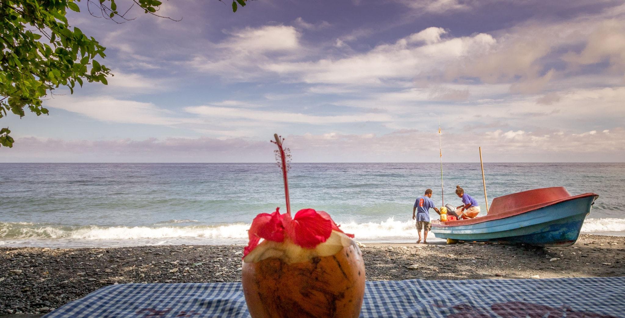 SOLOMON ISLANDS - Savo Island day trip from Honiara (Guadalcanal)