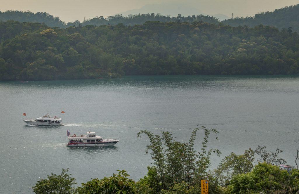 Boats on Sun Moon Lake - TAIWAN - Day trip to Sun Moon Lake from Taipei or Taichung