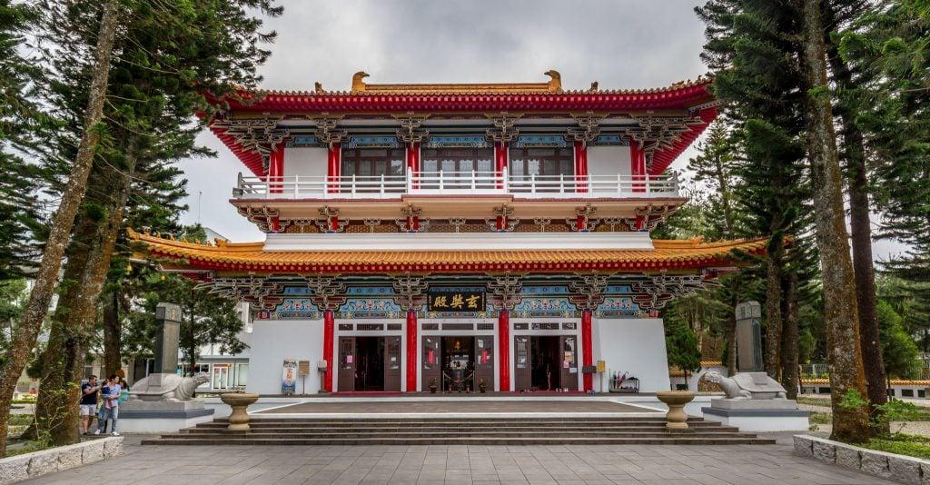 Xuan Zang Temple - TAIWAN - Day trip to Sun Moon Lake from Taipei or Taichung