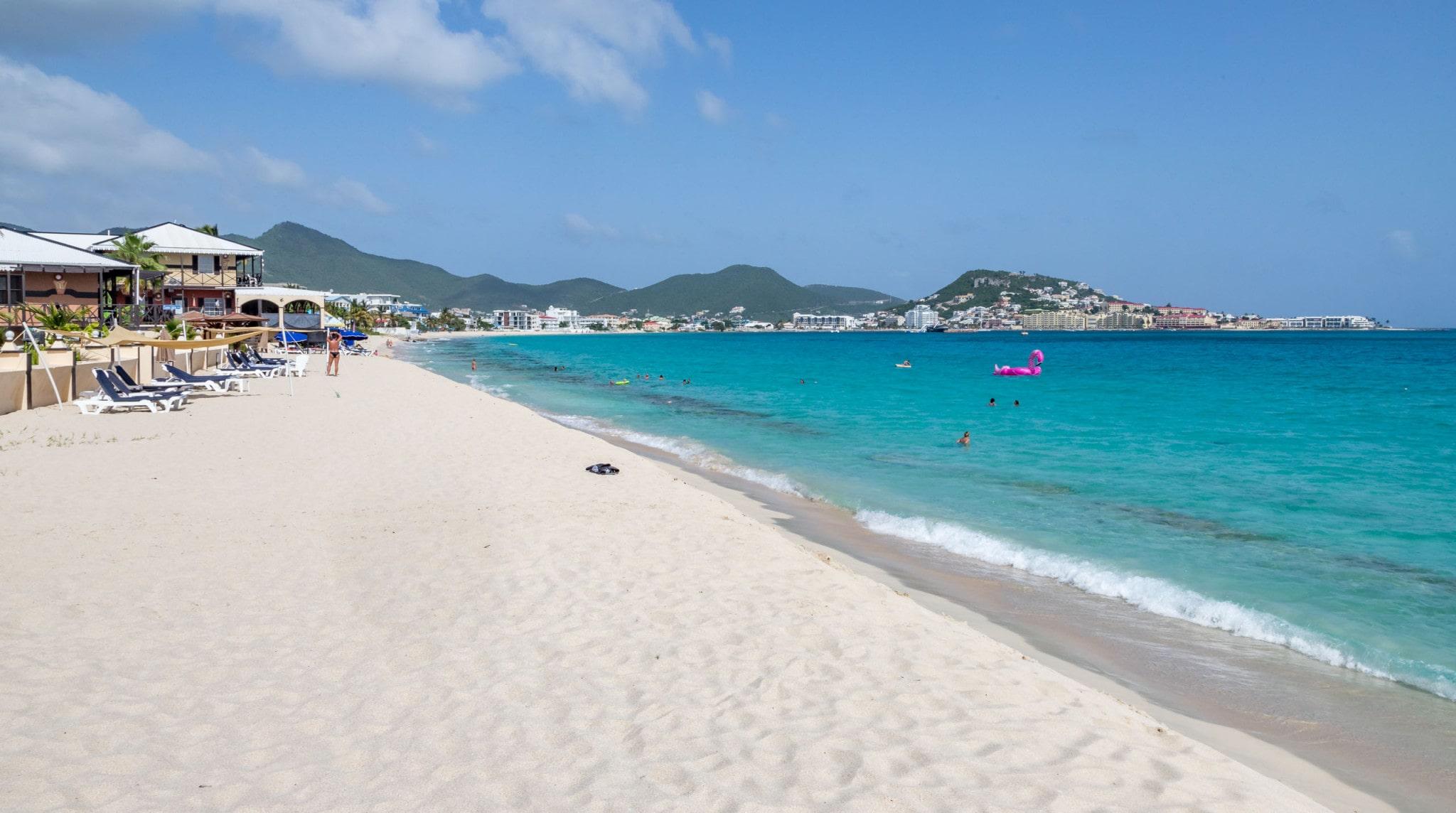 Simpson bay beach - CARIBBEAN - 2 weeks St. Maarten itinerary & island-hopping guide to St. Eustatius & Saba