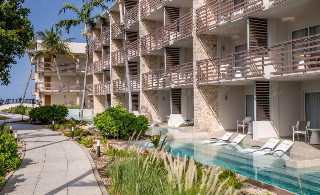 Rooms with pool - ST. MAARTEN - Sonesta Ocean Point Resort review: Best all-inclusive on St. Maarten