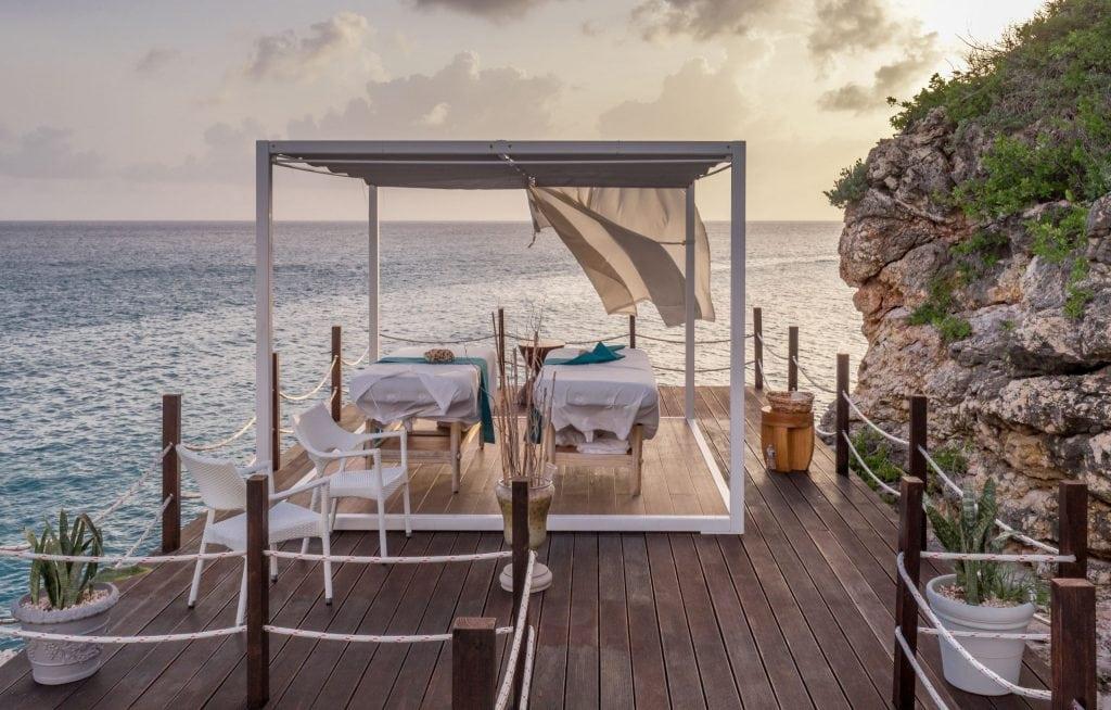 Sea view massage - ST. MAARTEN - Sonesta Ocean Point Resort review: Best all-inclusive on St. Maarten